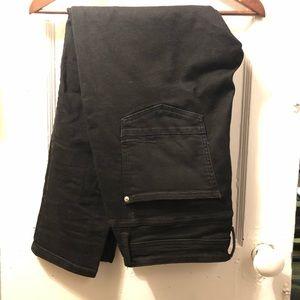 ZARA skinny cropped stretch jeans